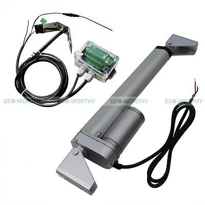 8'' 12V Linear Actuator &Controller Fit For DIY Single Axis Solar Tracker System