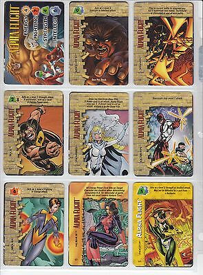 Marvel Overpower Game - Pick 1 Hero/Character 5 to 8 Card Sets Heroes+Spec+OPD