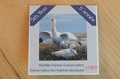 Canada 1989 Wildlife Conservation Stamp - VERY NICE