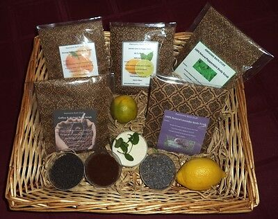 Body Scrubs - 100% Natural with Essential Oils & Cocoa Butter