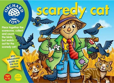 Orchard Toys SCAREDY CAT Kids/Children's Scarecrow Counting/Matching Game BN