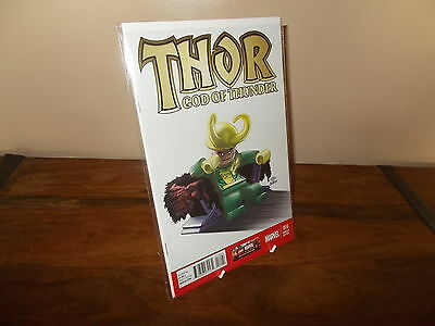 Thor God of Thunder #1 lego Variant Cover