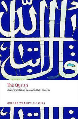 The Qur'an by M.a.s. Abdel Haleem (English) Paperback Book Free Shipping!