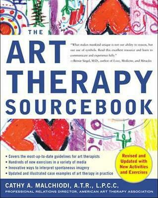 The Art Therapy Sourcebook by Cathy A. Malchiodi Paperback Book (English)