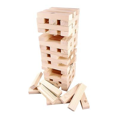 Giant Wooden Tumbling Jenga 1.2m Tower Blocks Garden Outdoor Party Family Game