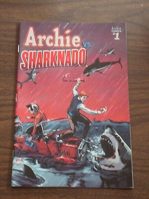 Archie Vs Sharknado #1 Archie Comics Cover C Vf (8.0)