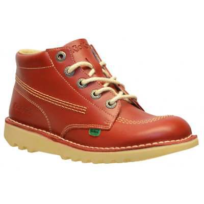 Kickers Kick Hi Youth Core Leather Boots All Sizes In Various Colours