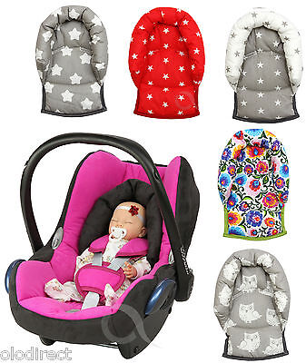 Infant Baby Toddler car seat , stroller travel head support pillow Folk COTTON