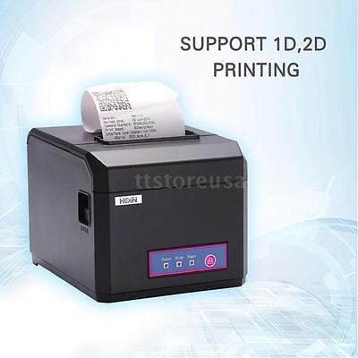 Hot Hoin High-Speed 80mm 58mm POS Receipt Barcode Thermal Printer USB for Shop