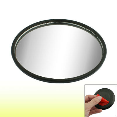 "Car Auto Truck 3"" Round Convex Wide Angle Blind Spot Mirror Black"