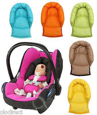 Infant Baby Toddler car seat , stroller travel head support pillow 100% COTTON
