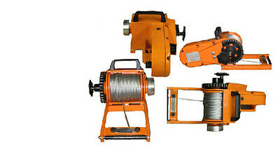 "WINCH - Chainsaw Mounted - 4000 Lb Cap - Includes 150 Ft of 3/16"" Cable"