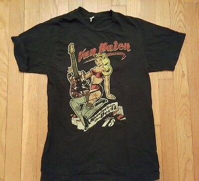 "Van Halen ""guitar Girl"" 2007 Tour T-Shirt [S]"