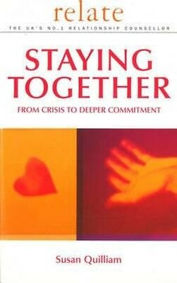 Relate Guide To Staying Together by Susan Quilliam Paperback Book (English)
