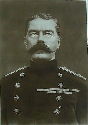 Postcard - Lord Kitchener Secretary Of State For War. Printed In France Ww1