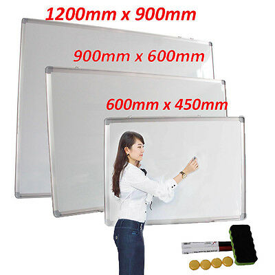 Brand New Magnetic Wipe White board Office School Dry Wipe with Marker and Erase