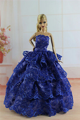 Fashion Princess Party Dress/Evening Clothes/Gown For 11.5in.Doll S341U