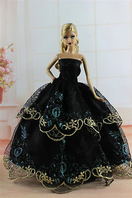 Fashion Princess Party Dress/Evening Clothes/Gown For 11.5in.Doll S342U