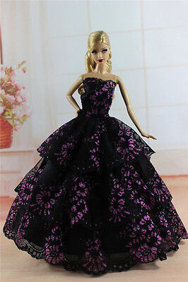 Fashion Princess Party Dress/Evening Clothes/Gown For 11.5in.Doll S343U