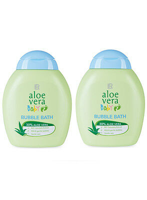 LR Aloe Vera Baby Schaumbad Baby Bubble Bath 2x 200ml