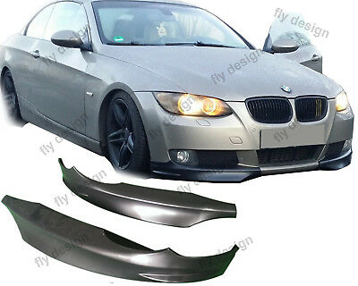 Splitter BMW E92 FLAP 3er Coupe 2005-10 Front Lippe diffusor Flip Front frontlip