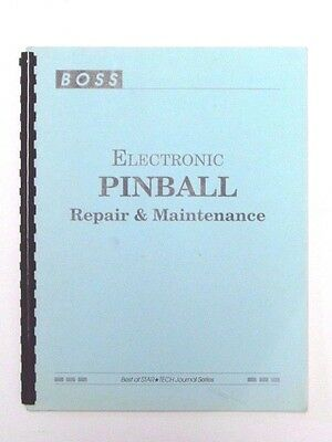 BOSS electric pinball repair and maintenance manual v.1