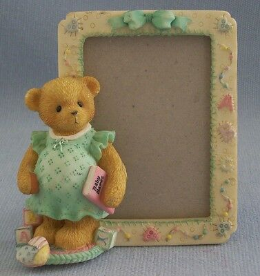 Cherished Teddies Expecting Mother Picture Frame 1999 Enesco Hillman #675725