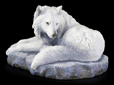 Wolf Figur - Guardian of the North by Lisa Parker - Fantasy Statue Deko Geschenk