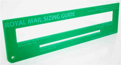 Royal Mail PiP PPI Post Postal Template Letter Size Guide  Green