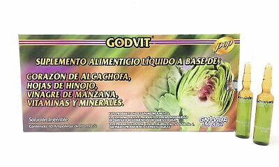 Ampolletas de Alcachofa GN+Vida Artichoke Vials 10 Day Supply FREE SHIPPING