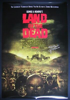 Land Of The Dead Original 2005 1  Sheet Poster George A Romero Zombie