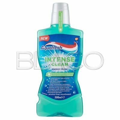 Aquafresh Colluttorio Intense Clean Energy Fresh - 500 Ml