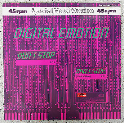 Digital Emotion _ Don´t Stop  --- Top Zustand