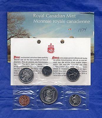 Canada Proof Like Coin Set 1980 Envelope Certificate of Authenticity