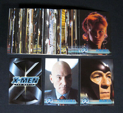 2000 Topps X-Men The Movie Trading Card Set (72) Nm/Mt