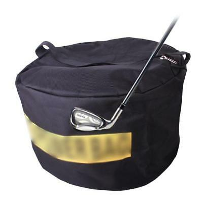 Black Golf Impact Smash Bag Driving Swing Aid Hit Practice Training Trainer