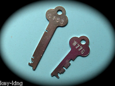 FLAT STEEL Locker Keys Cut To Code Number for Cabinets,Desks & Lockers-Free Post