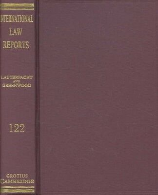 International Law Reports by Elihu Lauterpacht Hardcover Book (English)