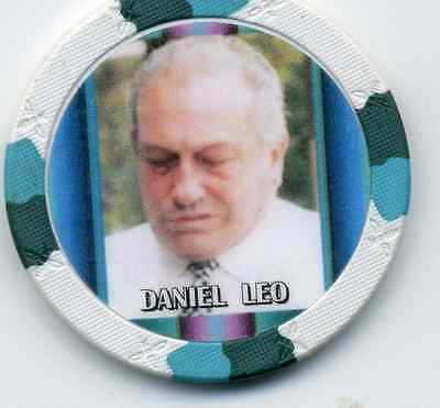Daniel Leo  Gangster  Collector Chip