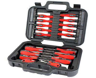 New 58 Pc Screwdriver Set Precision Slotted Torx Phillips Tool Kit Diy Mechanics