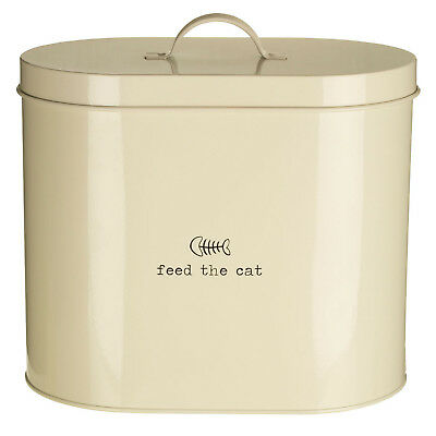 Feed The Cat 6.5 Litre Dry Animal Pet Meal Food Storage Bin Canister Container