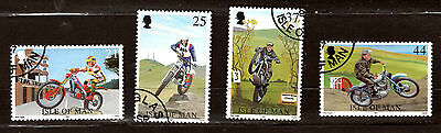 ISLE OF MAN Trial of nation motorcycle competition #757-760  E186