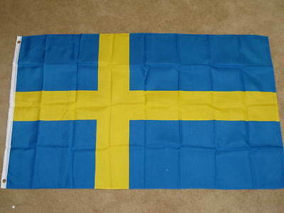 New 3X5 Sweden Flag Swedish Flags Eu European F216