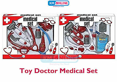 Kids Toy Doctors Nurses Medical Hospital Set Case Great Role Play Fun Toy TY597