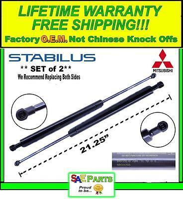 *NEW* - Set of 2 - Mitsubishi Rear Pair Tail Gate Lift Hatch Strut Support Arm