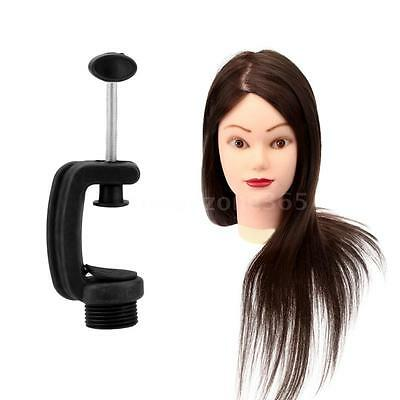 Long Hair Hairdressing Mannequin Training Head Model with Stand Female Hot J0V2