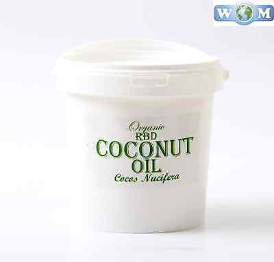 Coconut RBD Organic Carrier Oil - 100% Pure - 1 kg (CO1KCOCORBD)