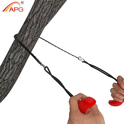 Survival Pocket Chain Saw Portable Steel Gear Hand Tool Emergency Chainsaw APG