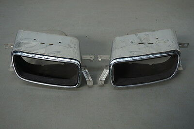 Genuine Volvo Xc90 2015- Rear Bumper Exhaust Tailpipes Tips