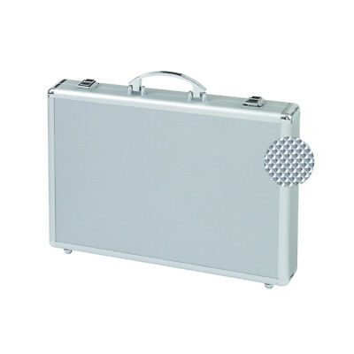 "ALUMAXX Attaché-koffer ""MINOR"", Aluminum silber Attache Alu Koffer Aktenkoffer"